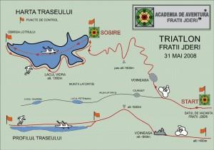 Harta Triatlon